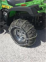 """ICE SNOW V-BAR ATV // UTV TIRE CHAINS 66/""""x16/"""" For Oversized 27/"""" Tires"""